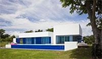 Небольшой домик в Германии с простым и хитроумным дизайном